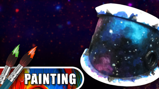 3 Colours Up: How To Paint Galaxy Skies