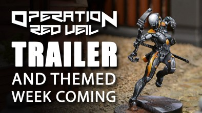Infinity Operation: Red Veil Trailer and Themed Week