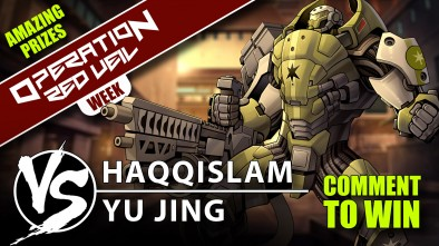 Infinity Red Veil Battle Report: Haqqislam VS Yu Jing 180pts