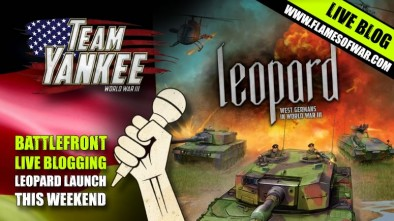 Live Blog Team Yankee Leopard Launch