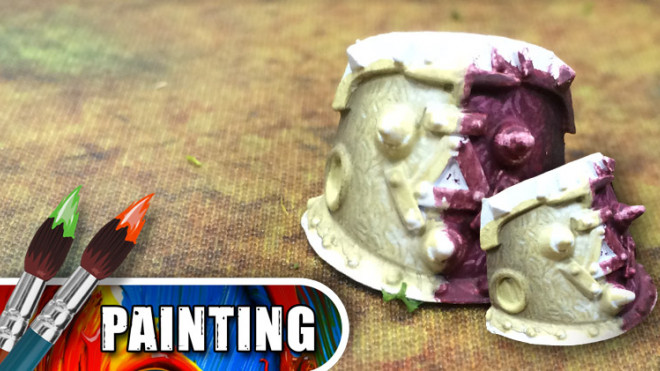 3 Colours Up – Engraved Menoth Patterns