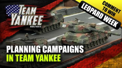 Team Yankee Leopard Week - Red Storm Rising; Planning A Campaign