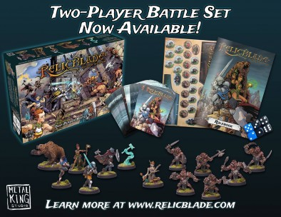 Relic Blade Two Player Battle Set
