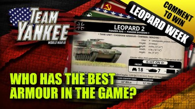 Team Yankee Leopard Week - Top Trumps! Who Has The Best Armoured Units?