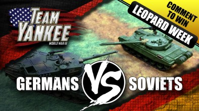 Team Yankee Leopard Week Battle Report - West Germans VS Soviets