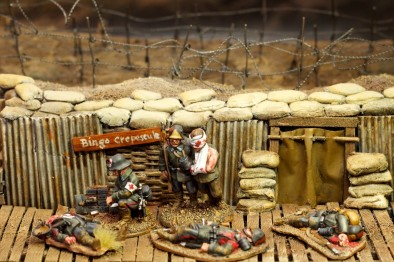 Unfinished Armies (Wounded Soldiers)