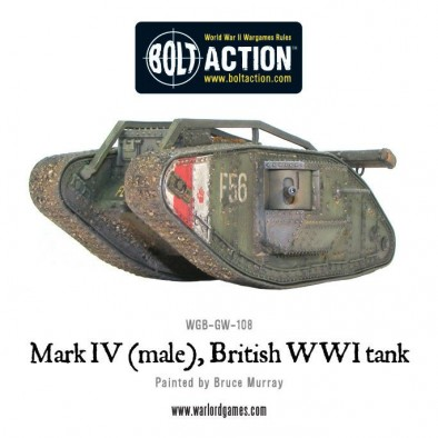 World War One British Tank
