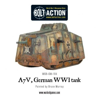 World War One German Tank