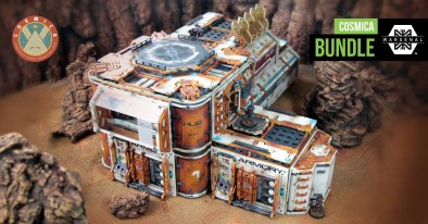 Warsenal Construct A New Cosmica Building For Gen Con