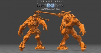 Combined Army Overdron Batroids (Render)