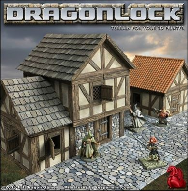 Fat Dragon Games Dragonlock ks