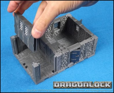 Fat Dragon Games KS dungeon