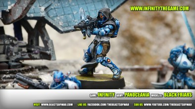 Game: Infinity Army: PanOceania Model(s): Black Friars