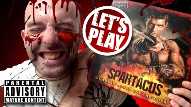 Let's Play the Spartacus board game on Beasts of War