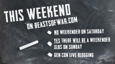 This Weekend On Beasts of War