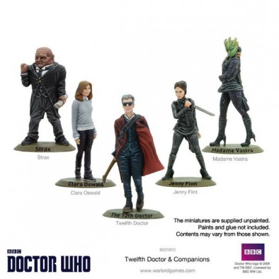 Twelfth Doctor & Companions (Painted)