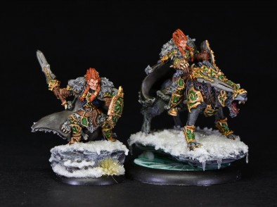 Wolf Lord Mounted & On Foot by brushstroke