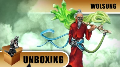 Wolsung Unboxing: Triad Of The Lotus Dragon