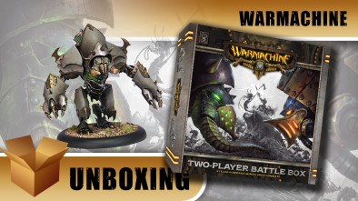 Warmachine Unboxing: Two Player Battle Box - Cygnar vs Cryx