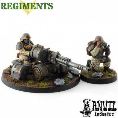 AI crewed heavy weapon squads