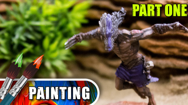 3 Colours Up: Painting A Bamaka Warrior – Part One
