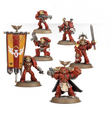 Blood Angel Command Squad