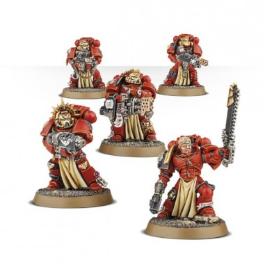 Blood Angel Veteran Squad