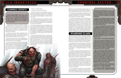 Cannibal Sector Book
