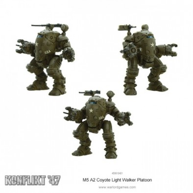 Coyote Light Walker Platoon