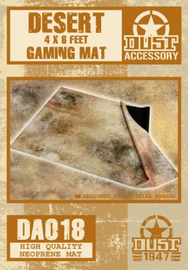 Dust Desert Gaming Mat