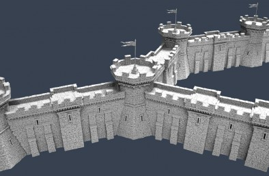 Fortified Tower & Walls