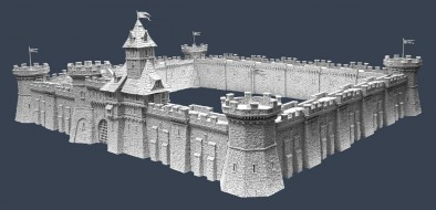 Fortified Towers & Wall Sections