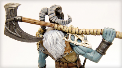 Frost Giant Back