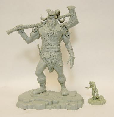 Frost Giant Scale