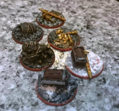 Frostgrave Scatter Terrain (Treasure Tokens) by dugthefug1644