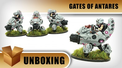Gates of Antares Unboxing: Ghar Attack Scutters