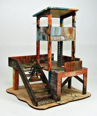 IM RUST watch tower