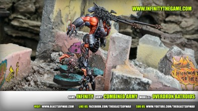 Game: Infinity Army: Combined Army Model(s): Overdron Batroids