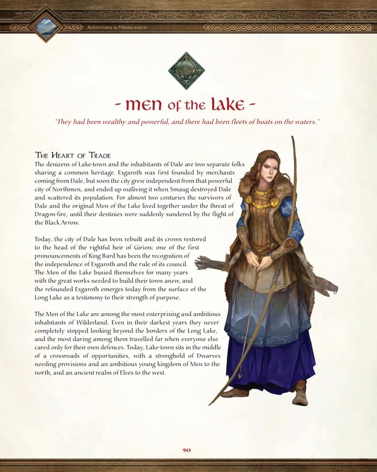Adventures In Middle Earth Player S Guide Gets Pdf Release