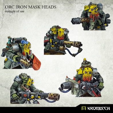 Orc Iron Mask Heads (Examples)