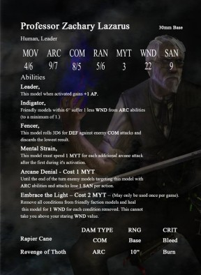 PM character card