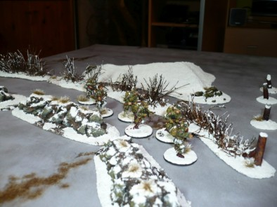 Scattered Snow Terrain by bothi