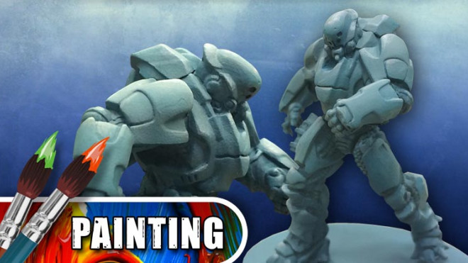 3 Colours Up: Painting Teal Armour
