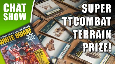 Weekender: TTCombat Mega Terrain Prize & White Dwarf Back With A Bang