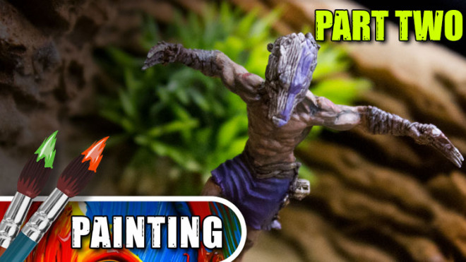 3 Colours Up: Painting a Bamaka Warrior – Part Two