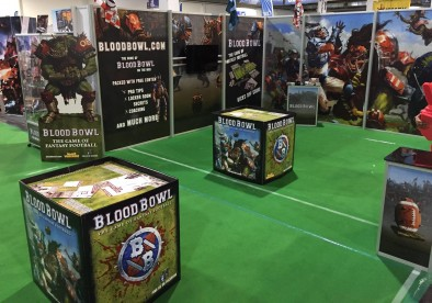 Blood Bowl Booth