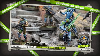 Infinity Sneak Peek: Shock Army Of Acontecimento, Panoceania Sectorial Starter Pack