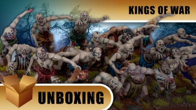 Kings of War Unboxing: Undead Army