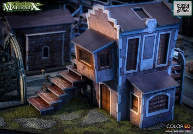 Malifaux House (Stairs)