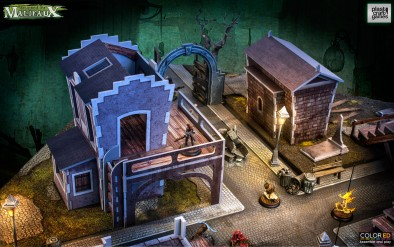Malifaux (Houses & Arch)